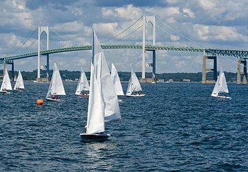 sailboats in newport